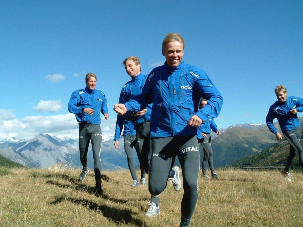 Team building corsa montagna valtellina sky running