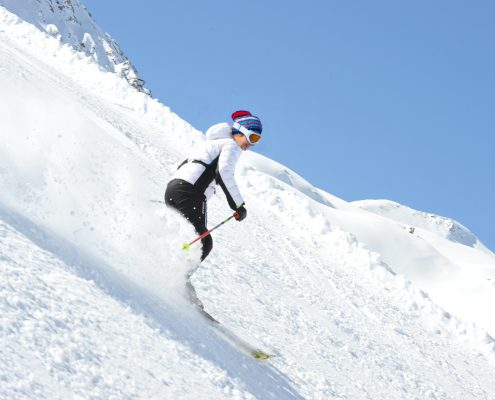 Sci discesa neve snow alpi