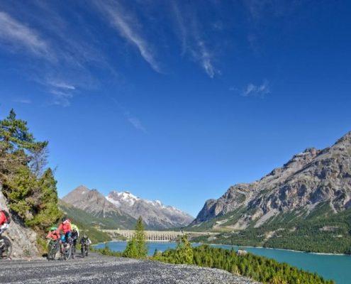 Laghi di Cancano mountain bike