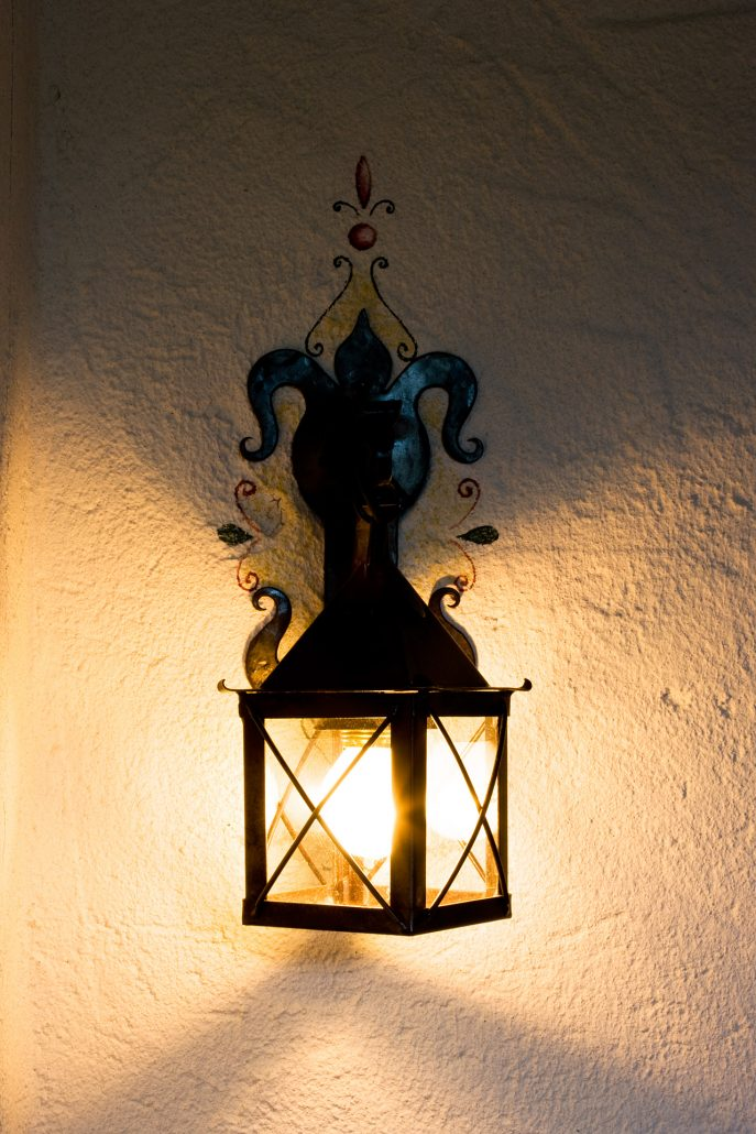 luce lanterna