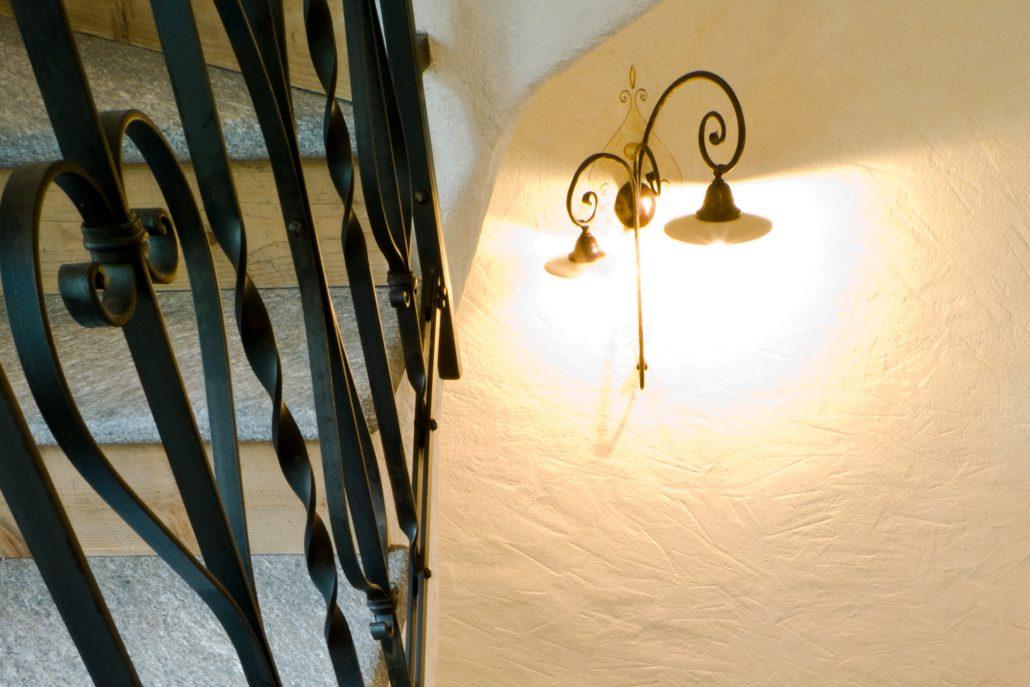 Rampa scale-dettaglio Lampada